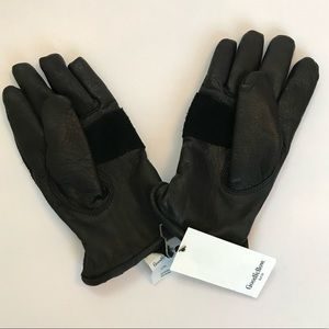 Men's Black Gloves NEW Goodfellows
